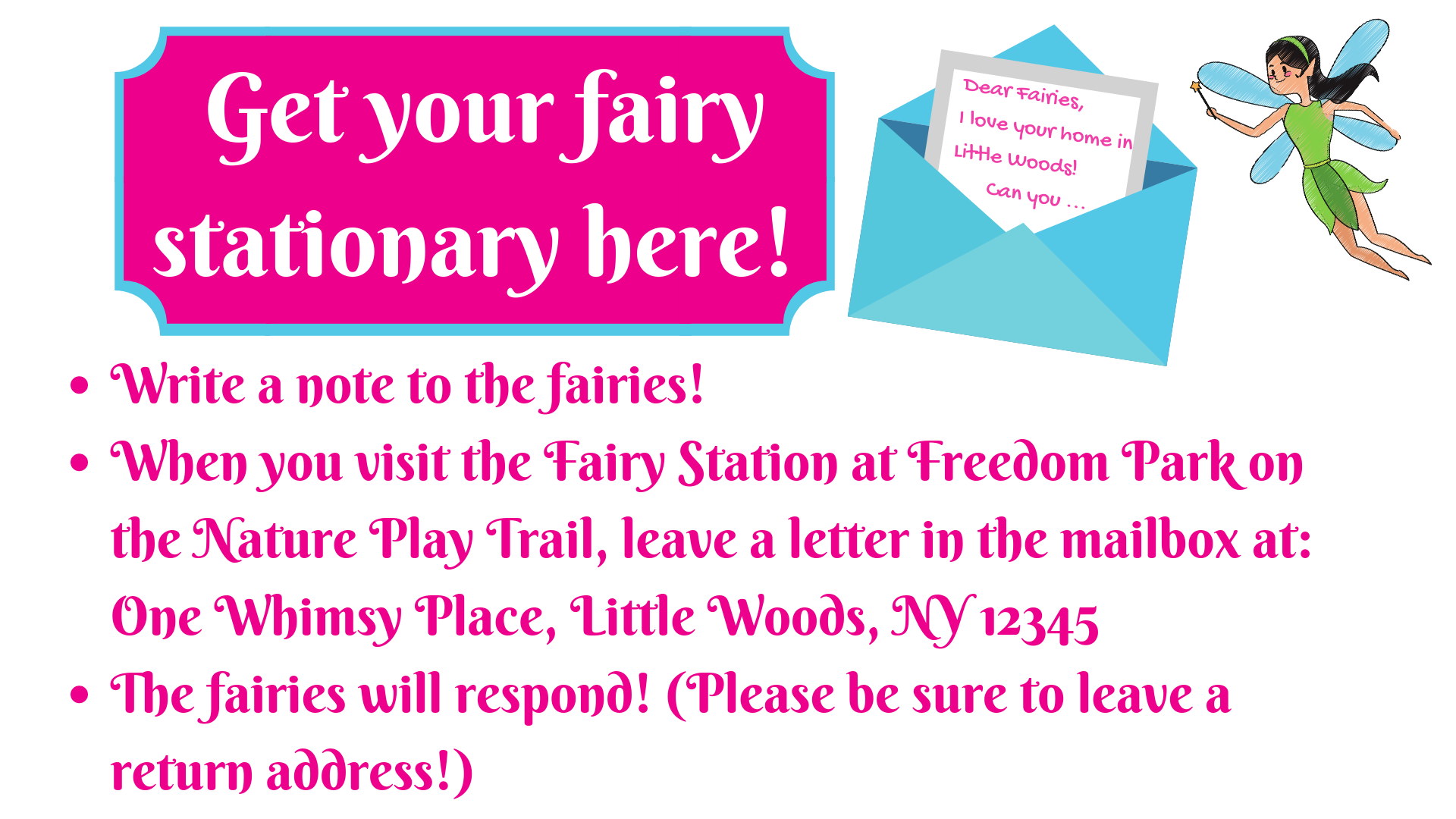 click here for fairy letter stationary
